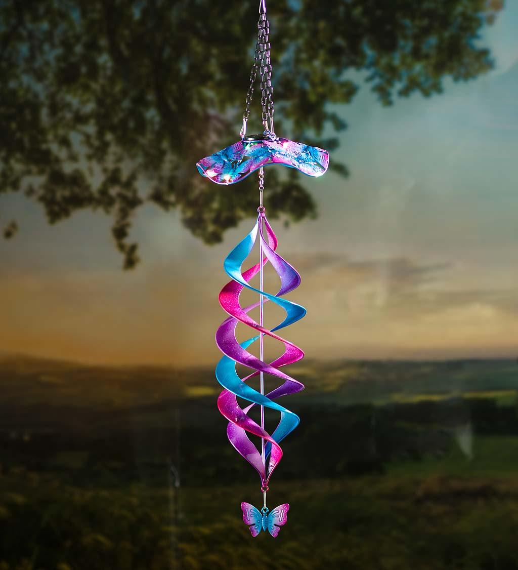 Solar Swirl Helix Spinner