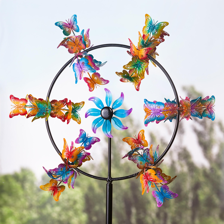 Butterflies Jubilee Garden Wind Spinner