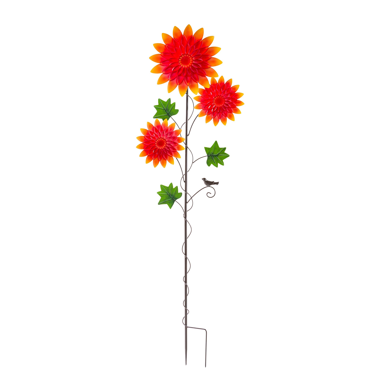 Chrysanthemum Garden Metal Stake