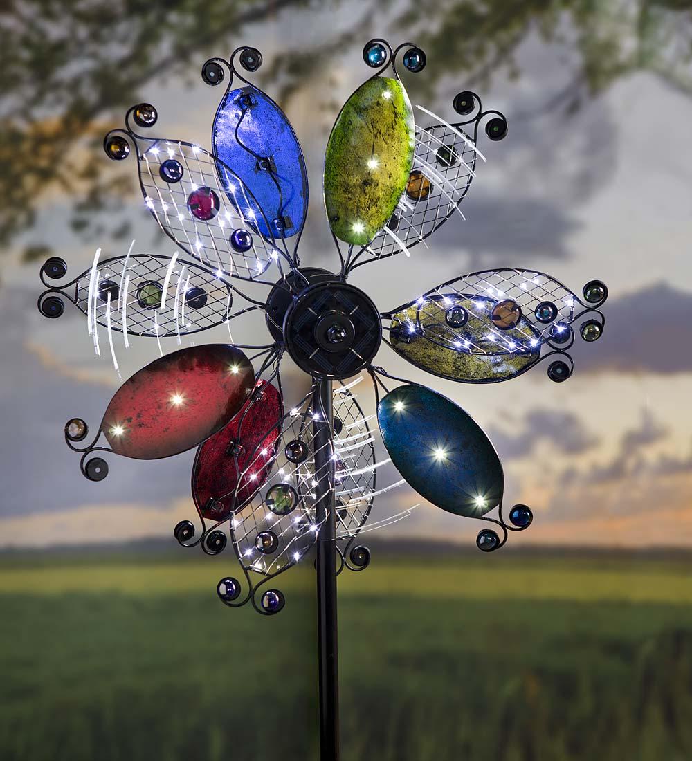 Galaxy Garden Wind Spinner