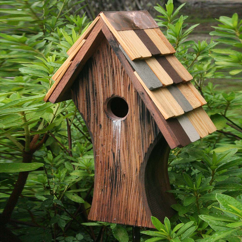 Knottingham Antique Cypress Shingled Roof Birdhouse