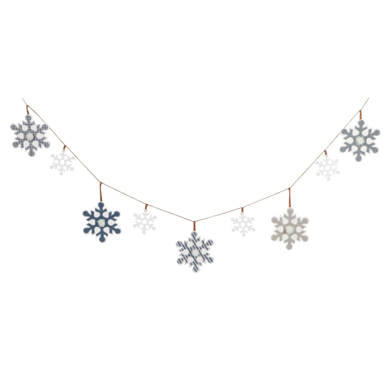 Snowflakes Seasonal Décor Banner
