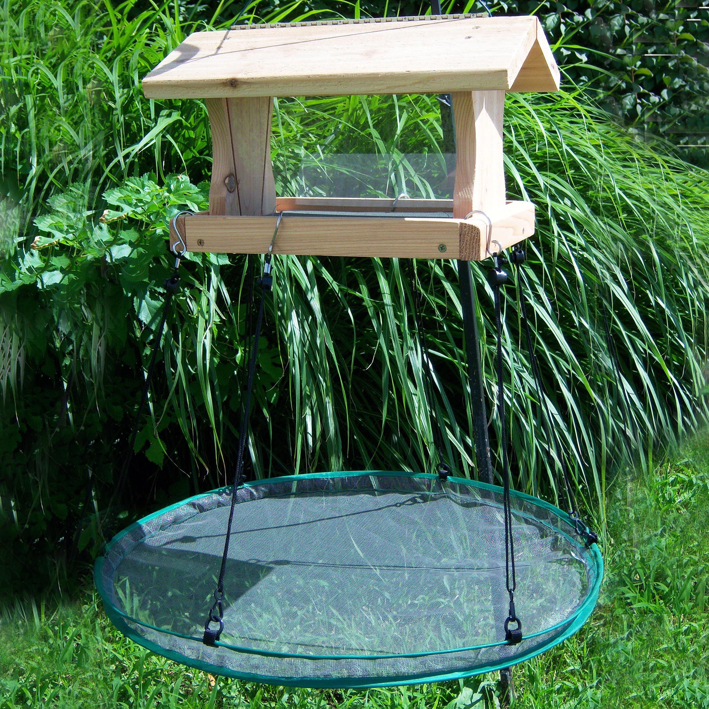 Seed Hoop Birdseed Catcher & Platform Bird Feeder (645194300248 Home & Garden Decor) photo