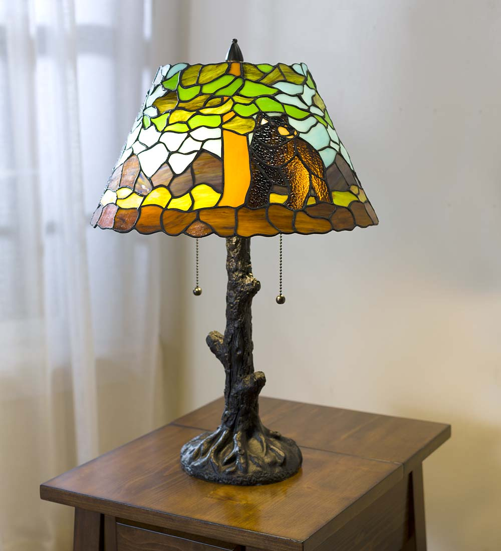 Calhoun Tiffany Glass Table Lamp