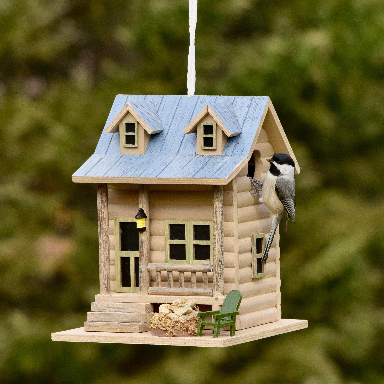 Cabin Retreat Birdhouse