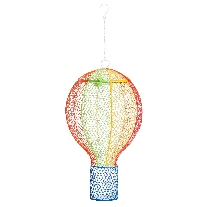 Hot Air Balloon Large Capacity Mesh Bird Feeder (Home & Garden Decor) photo