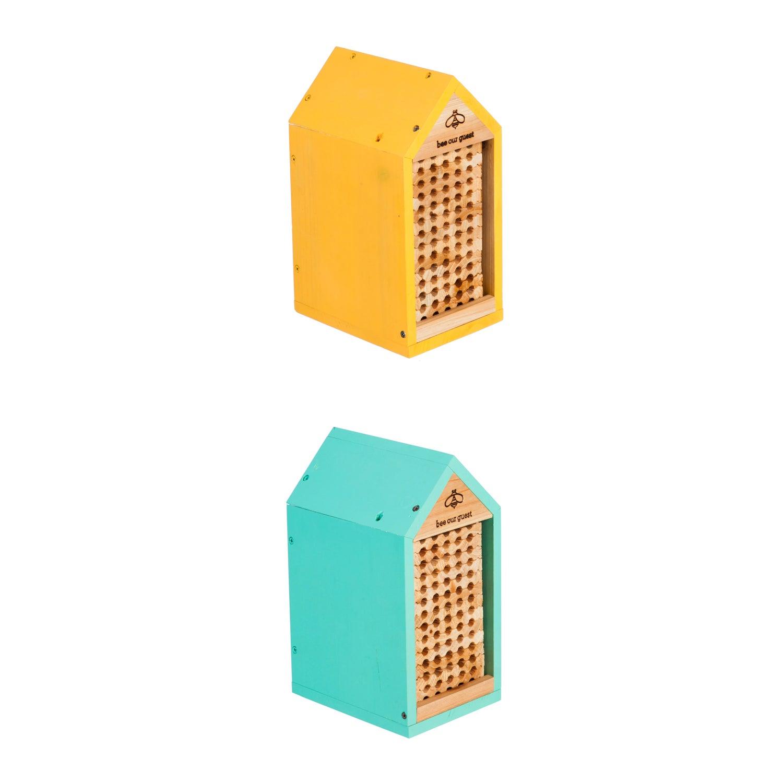 Bee Habitat with Trays, Set of 2