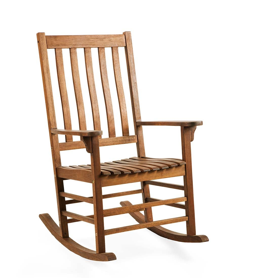 Surprising Details About Slatted Wooden Rocking Chair Made Of Fsc Certified Eucalyptus Cjindustries Chair Design For Home Cjindustriesco