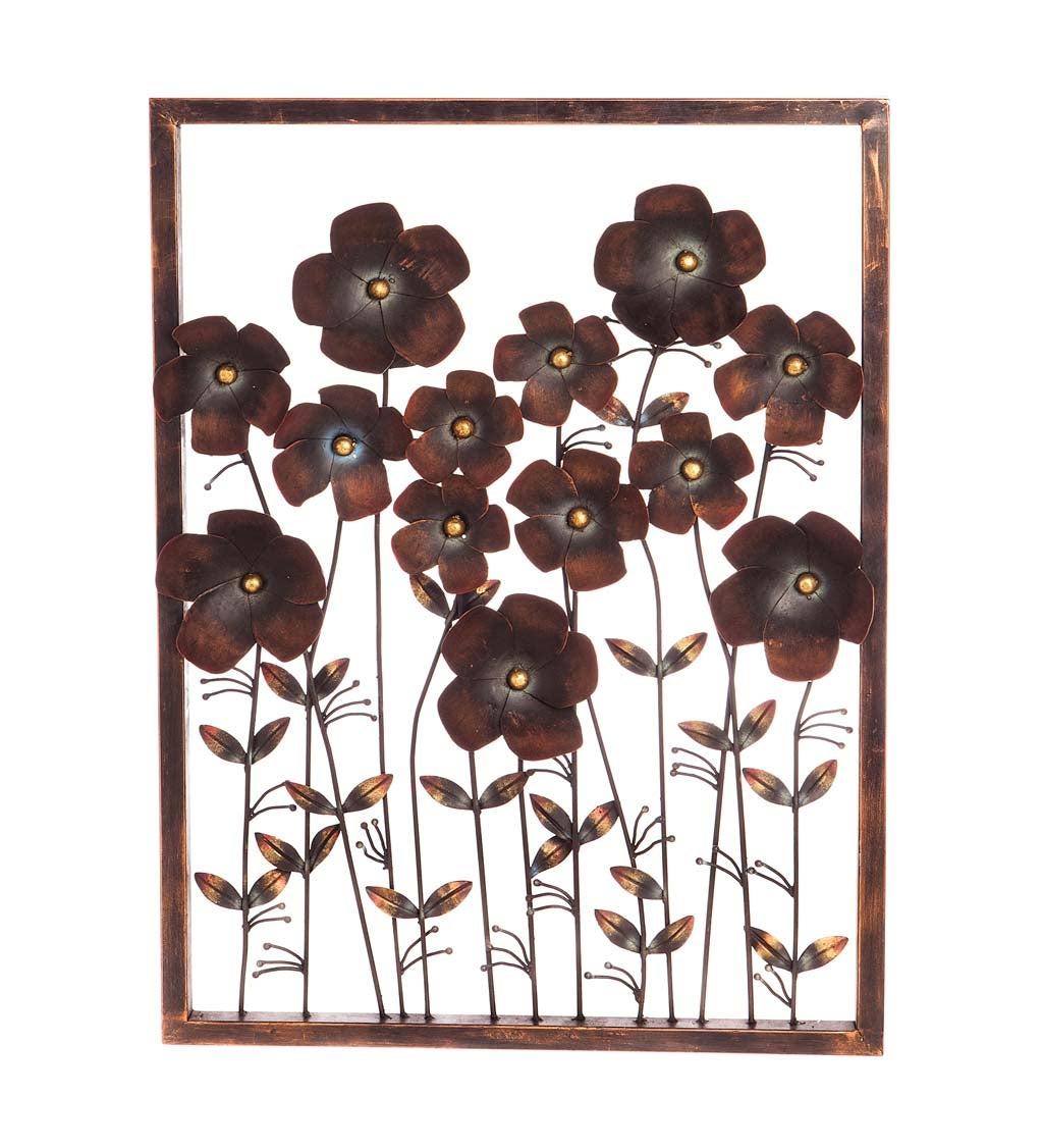 Iron Flower Frame Wall Decor