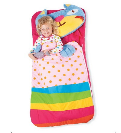 Sillies Sleeping Bag with Plush Pillow