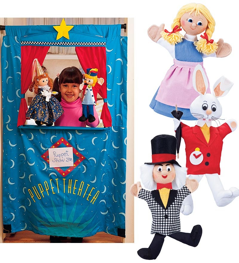 Puppets plus Doorway Puppet Theater Special