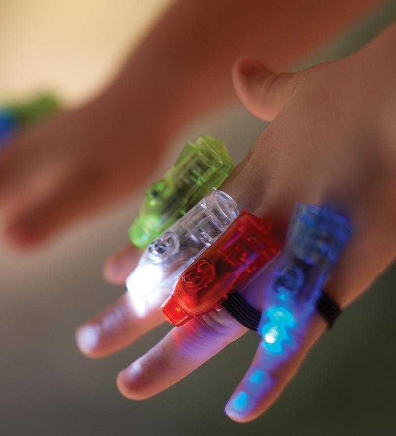 Super Finger Flashlights Party Pack, set of 24