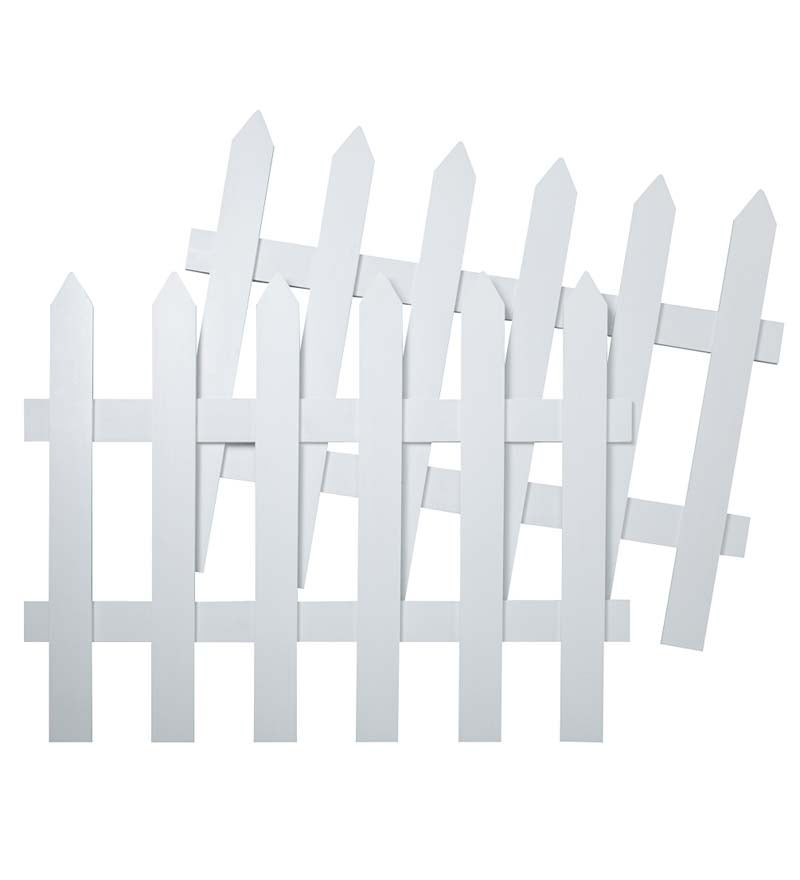 Create a Garden Room Picket Fence (Set of two)
