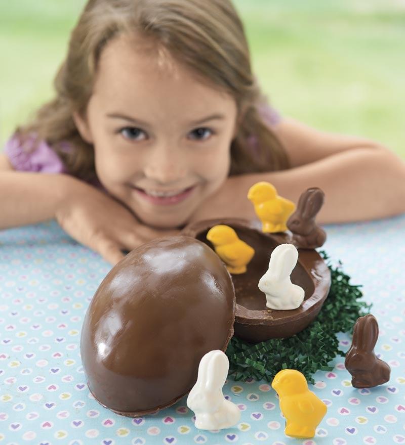 Chock-full Chocolate Egg