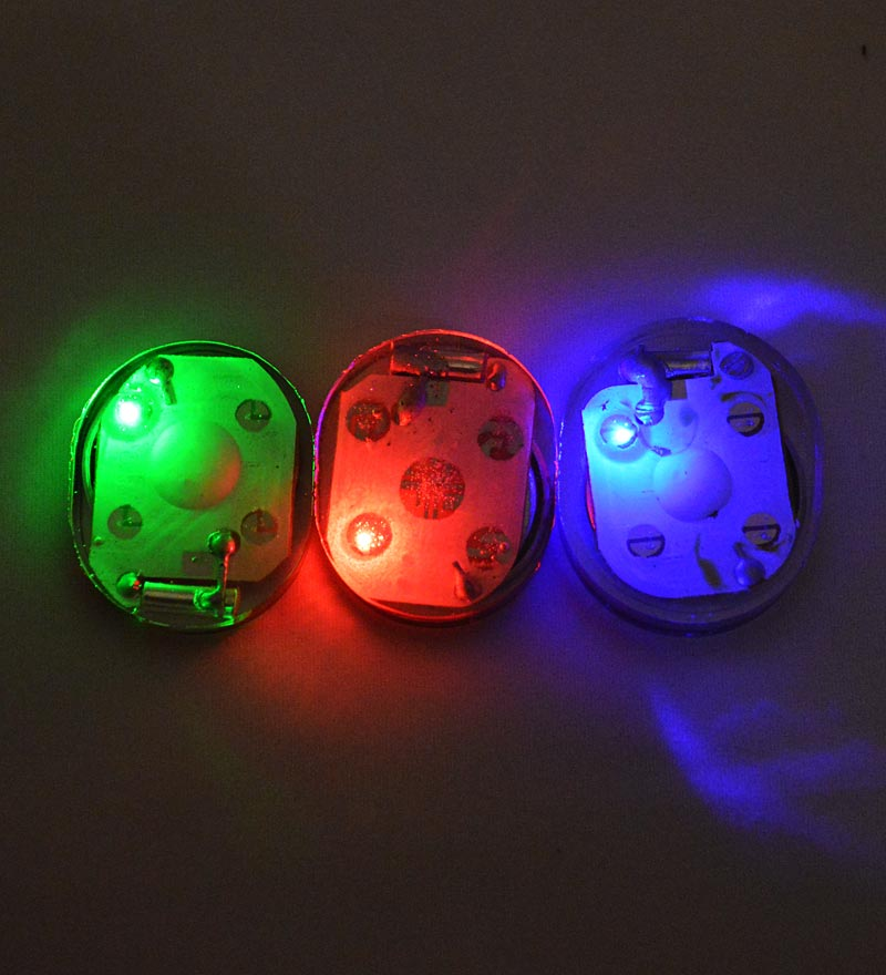 set of 12 replacement motion-activated leds
