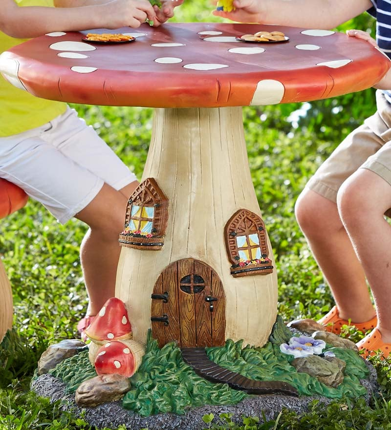 Fairy-Tale Mushroom Table