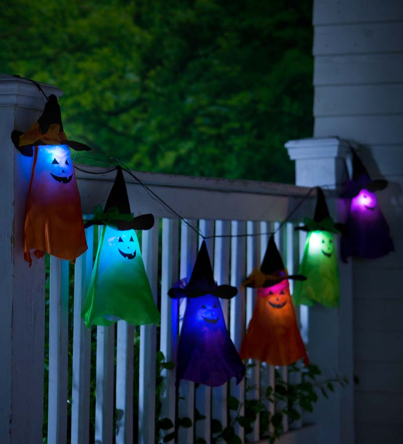 Witch Ghost String Lights