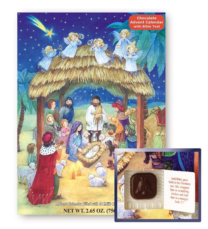 Chocolate Nativity Advent Calendar