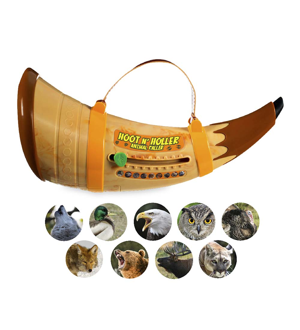 Hoot 'n' Holler Animal Caller with Nine Realistic Animal Sounds
