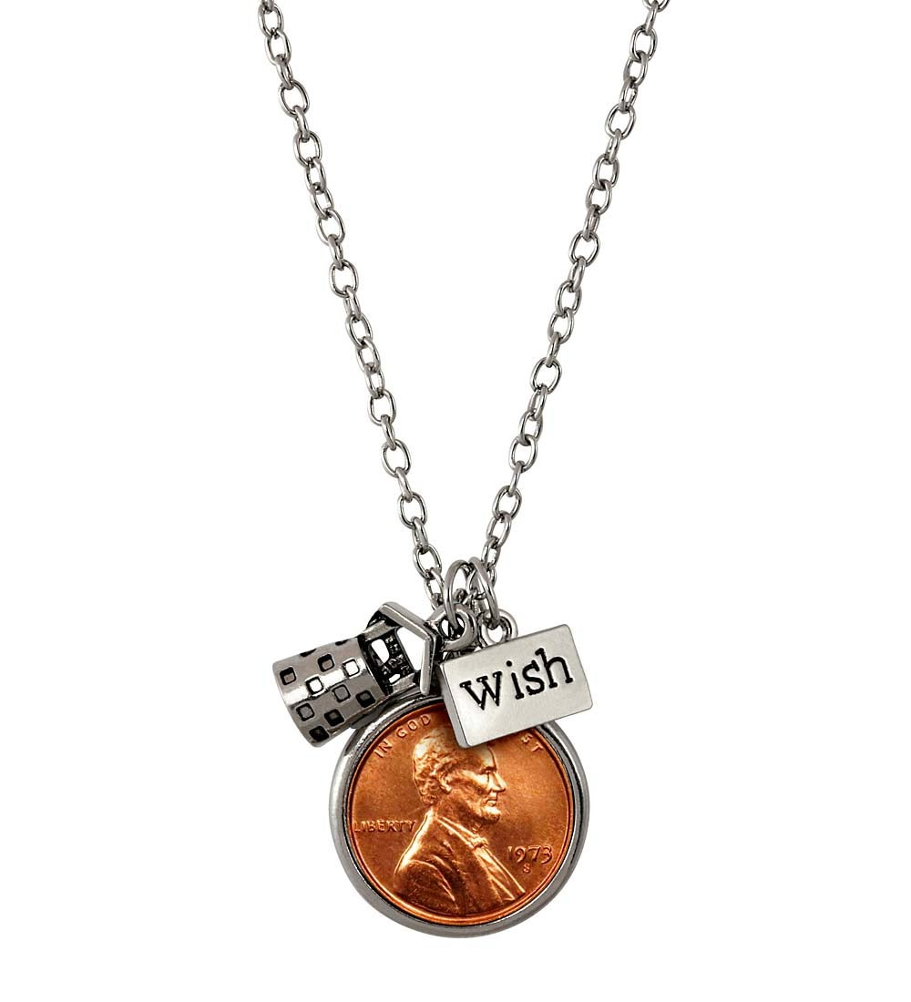 Year-to-Remember Penny Wish Necklace