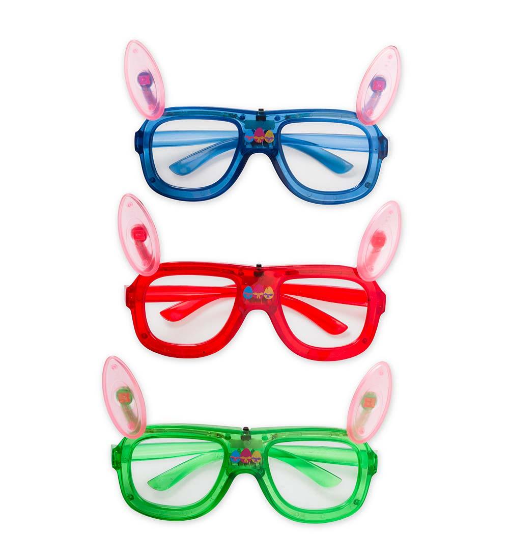 LED Bunny Hip-Hop Glasses