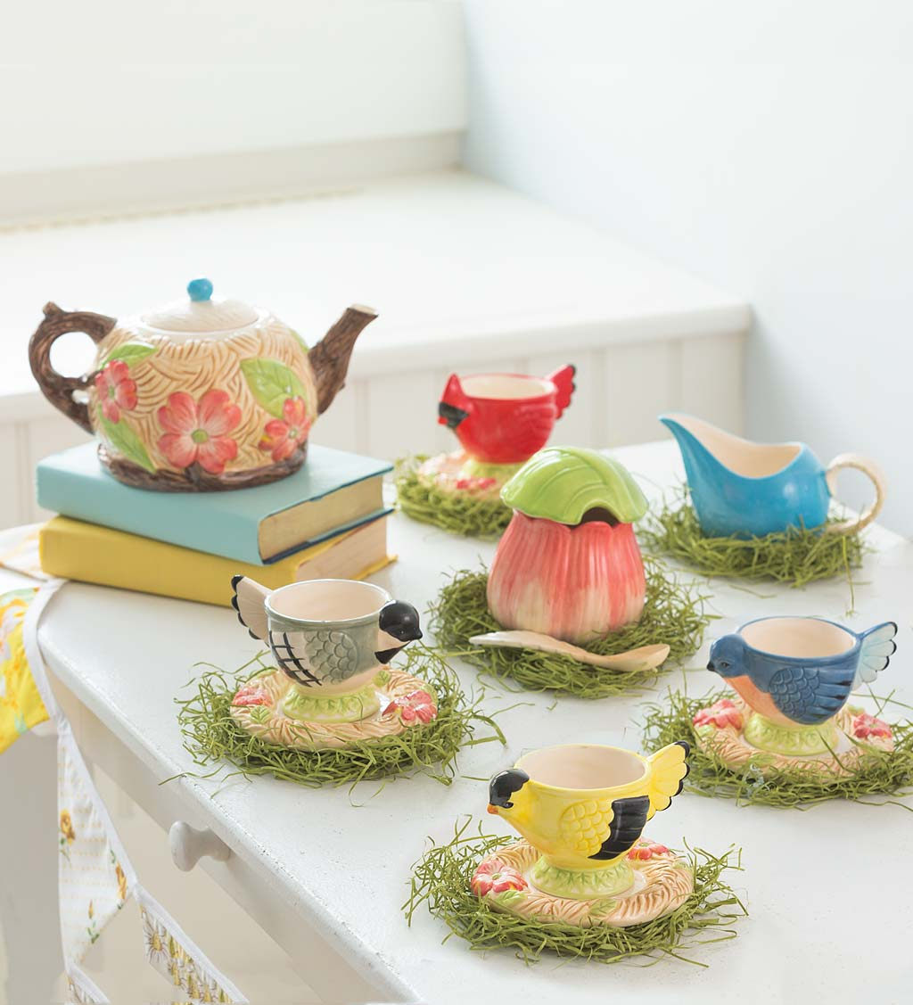 Songbird Tea Set