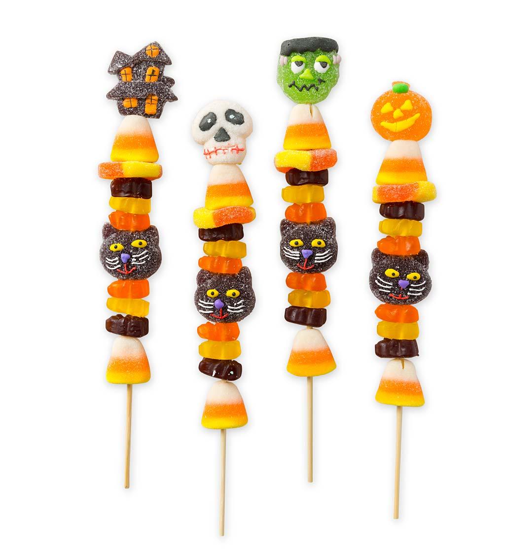 Halloween Gummy Candy Kabobs (set of 4)