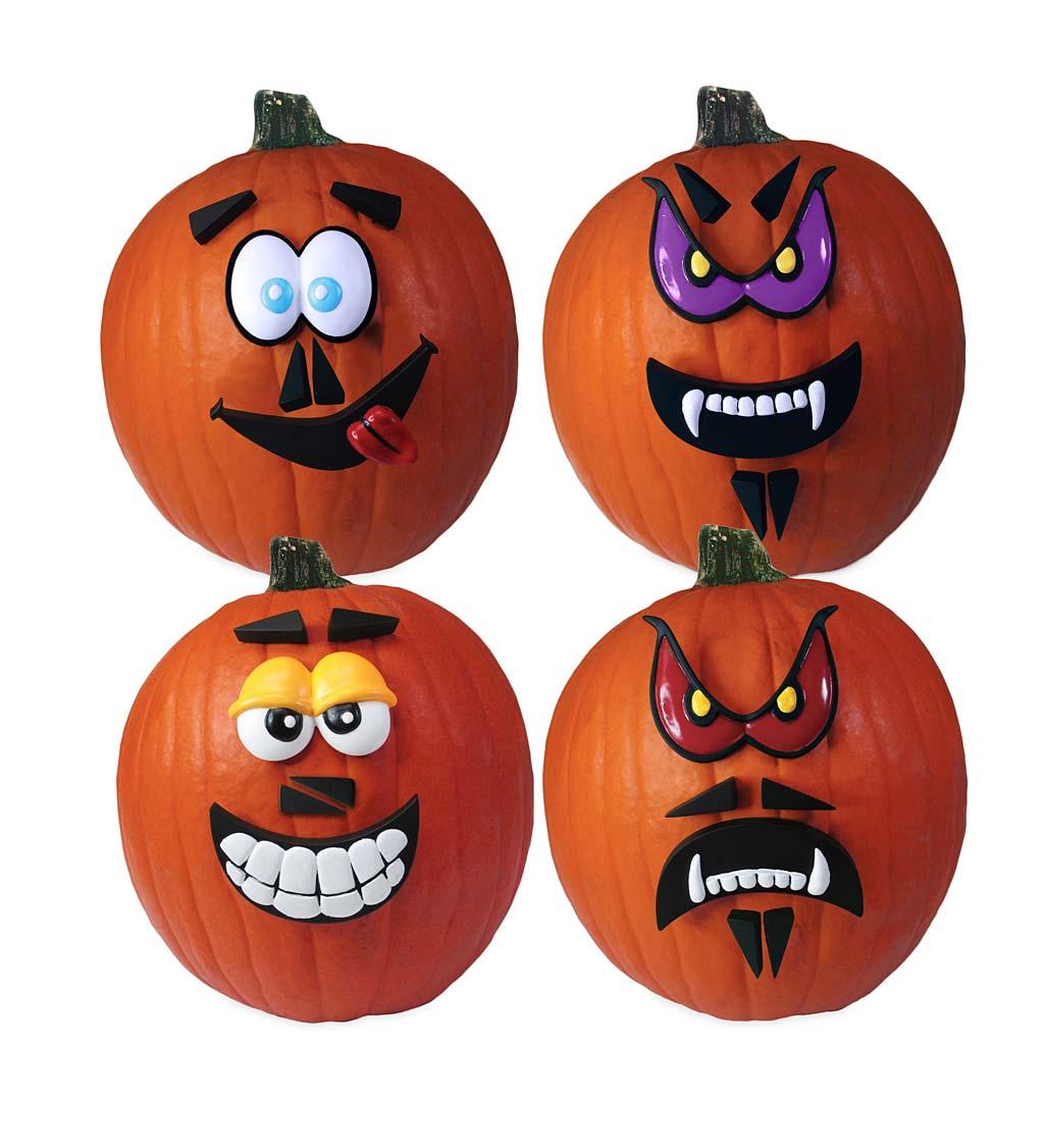 Crazy Pumpkin Faces