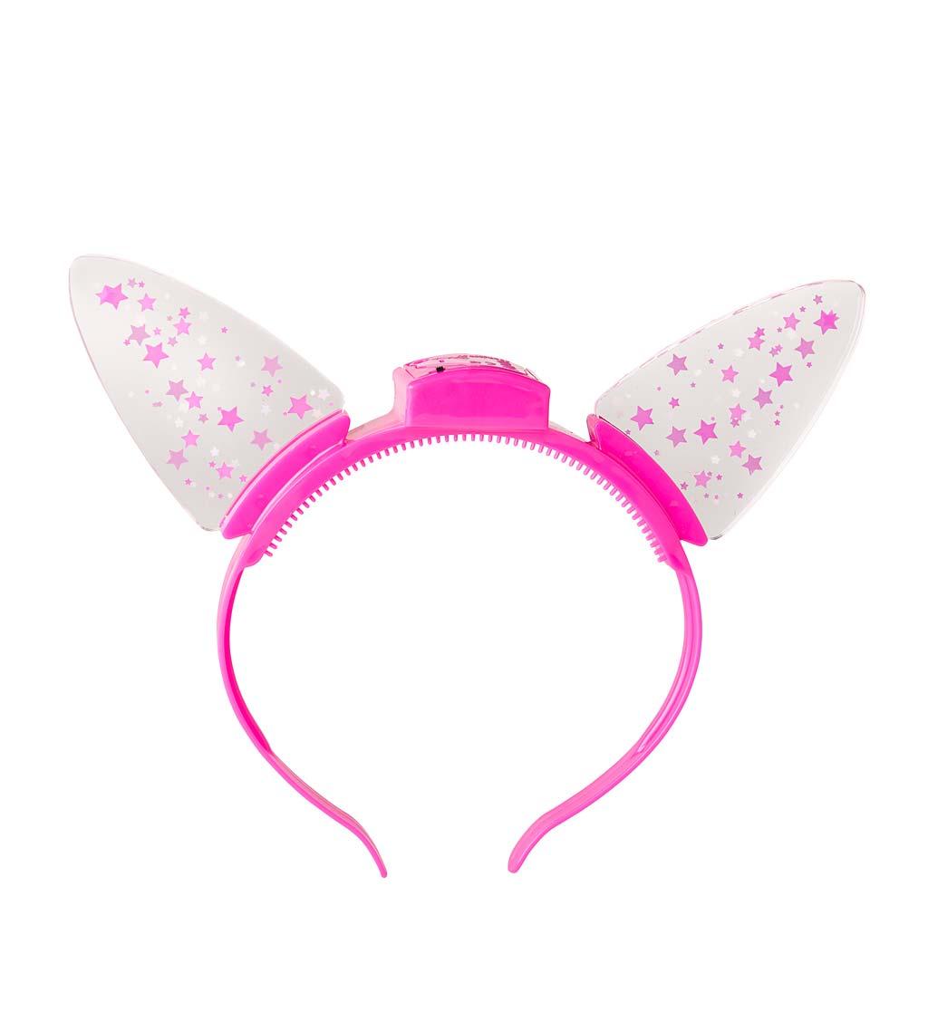 light-up cat ears