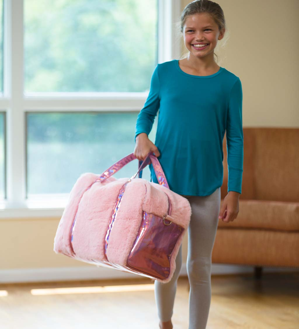 FabuLuxe Weekender Pink Travel Bag