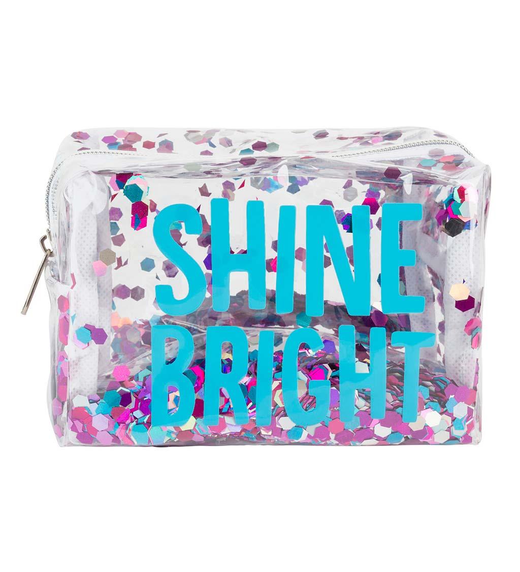 Shine Bright Cosmetic Bag