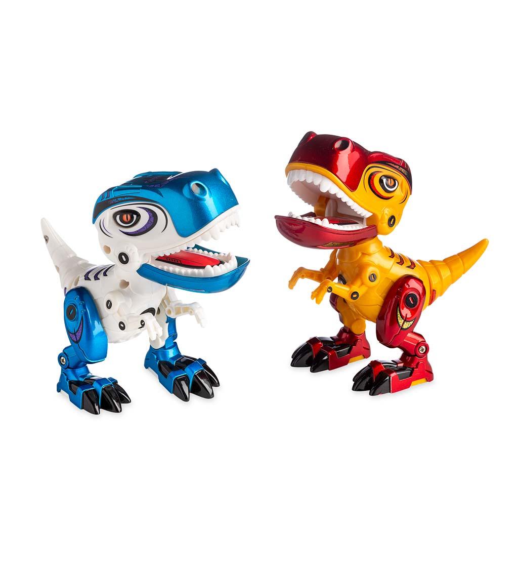 roaring raptors, set of two
