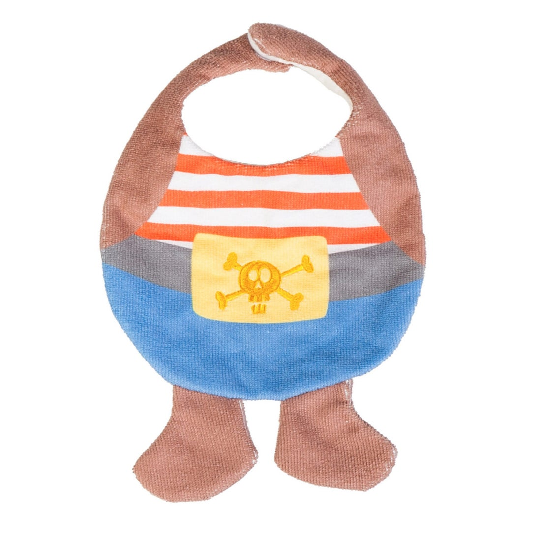 Pirate Novelty Baby Bib