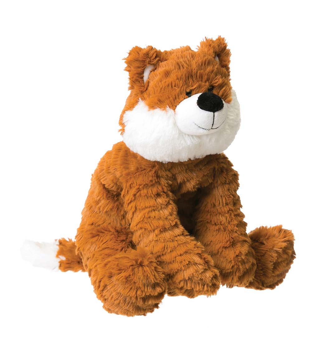 Orange Little Fox Cuddly Plush Stuffed Animal