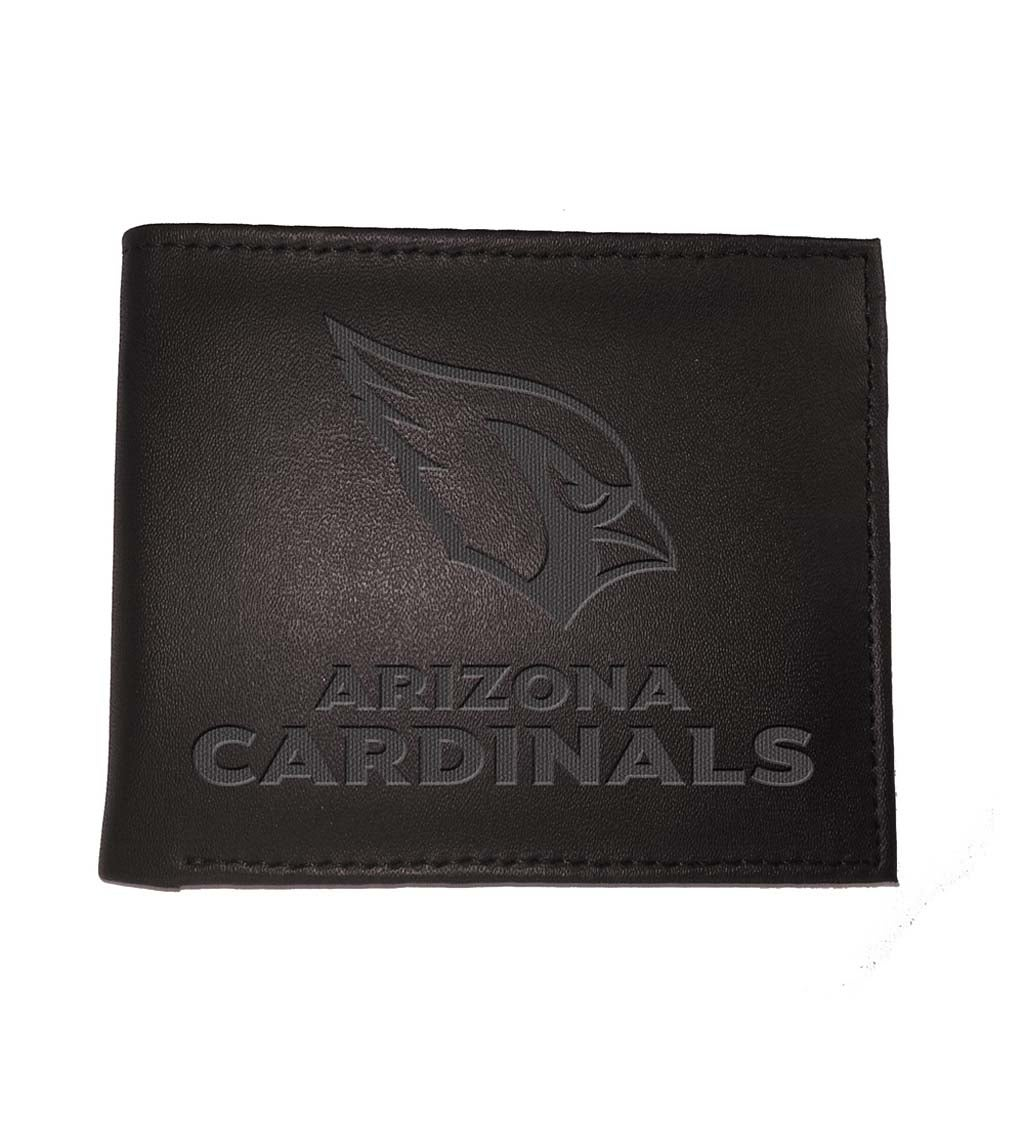 Arizona Cardinals Bi Fold Leather Wallet