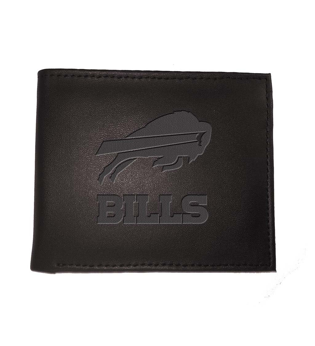 Buffalo Bills Bi Fold Leather Wallet