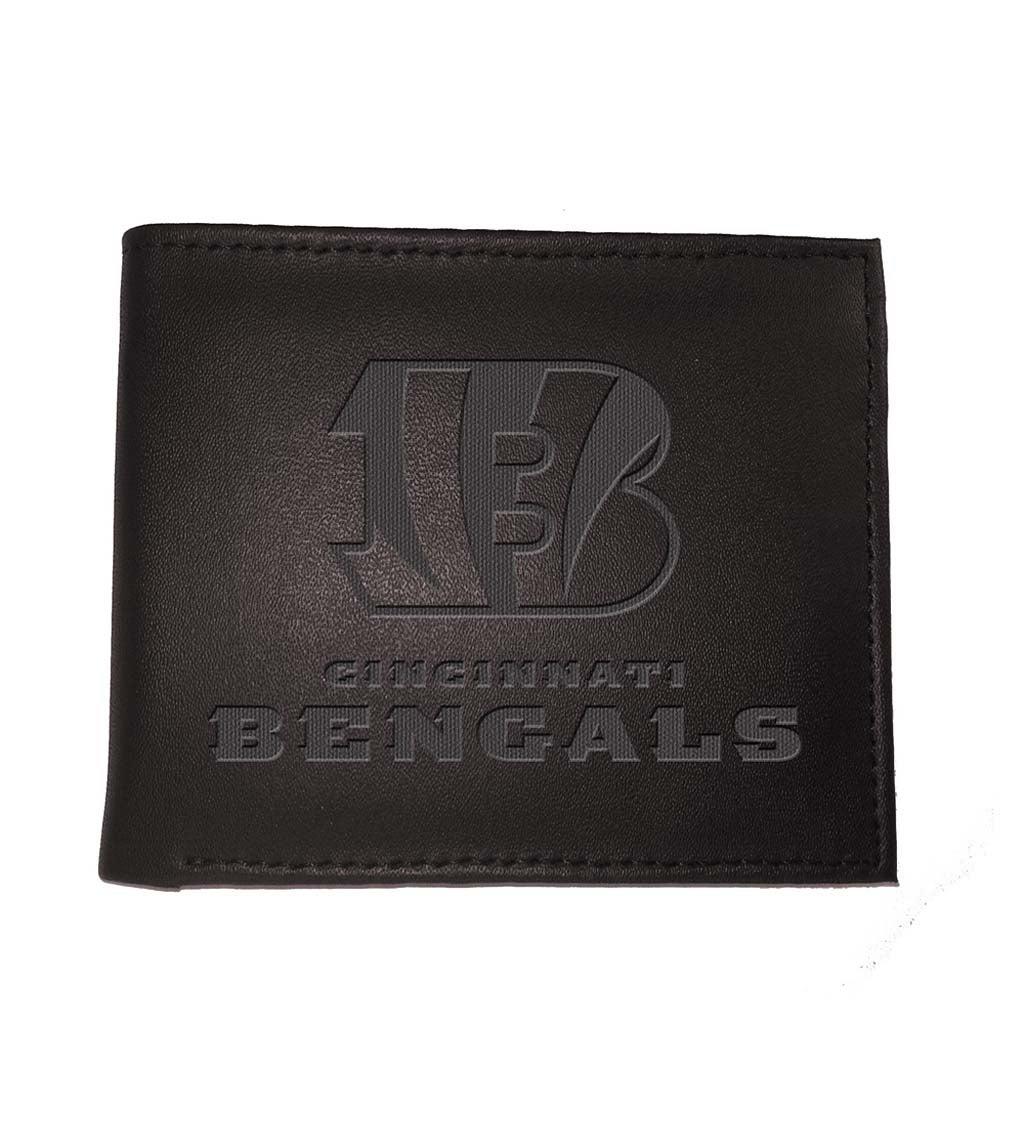 Cincinnati Bengals Bi Fold Leather Wallet