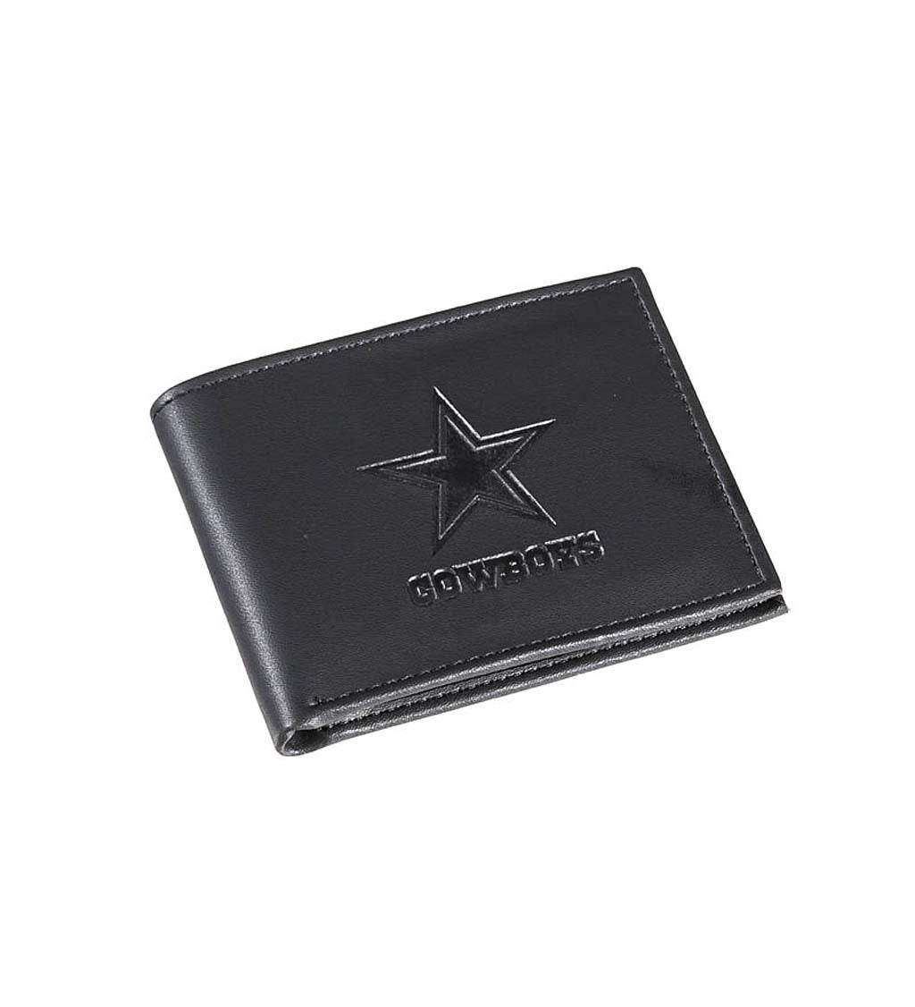 Dallas Cowboys Bi Fold Leather Wallet