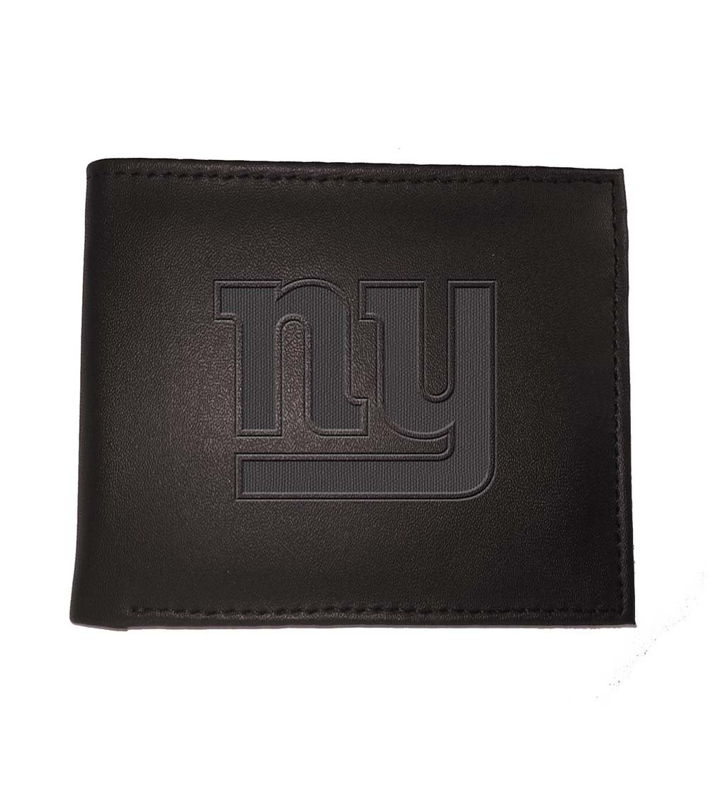 New York Giants Bi Fold Leather Wallet
