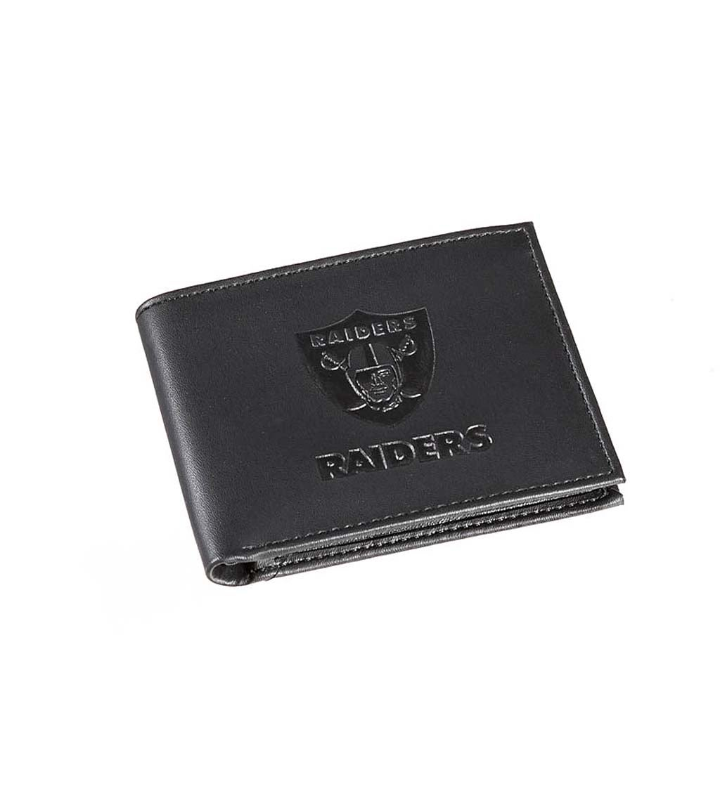 Las Vegas Raiders Bi Fold Leather Wallet