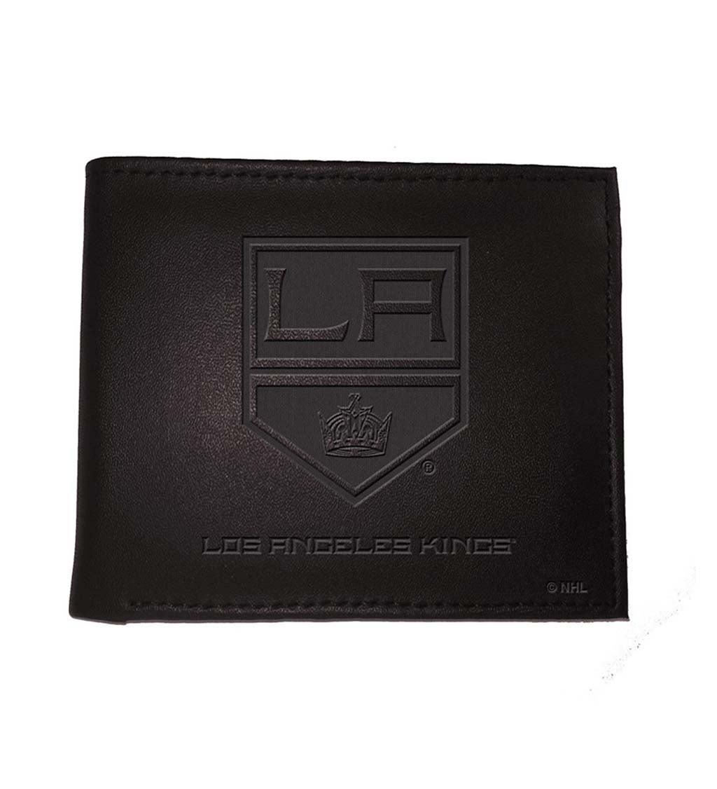 Los Angeles Kings Bi Fold Leather Wallet