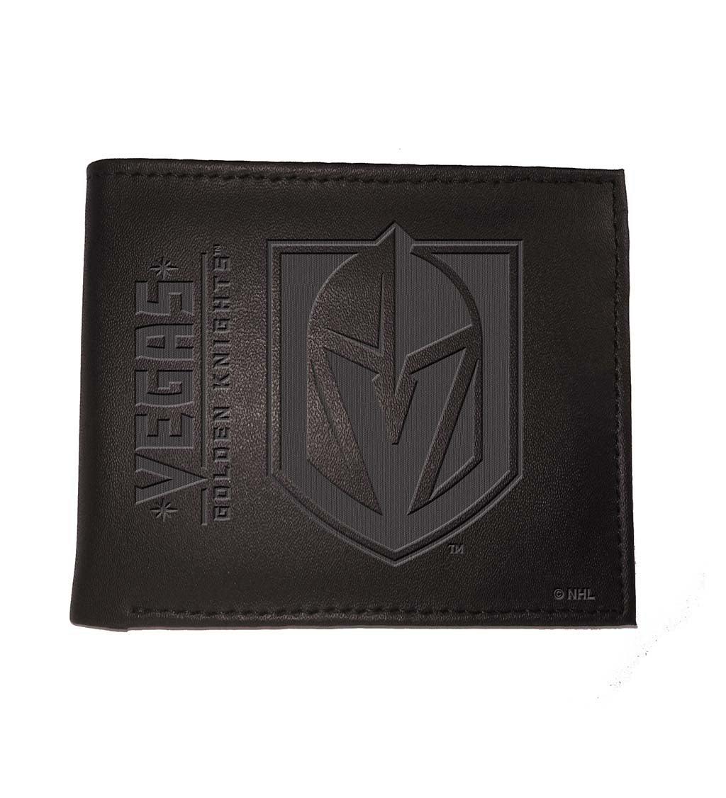Las Vegas Golden Knights Bi Fold Leather Wallet