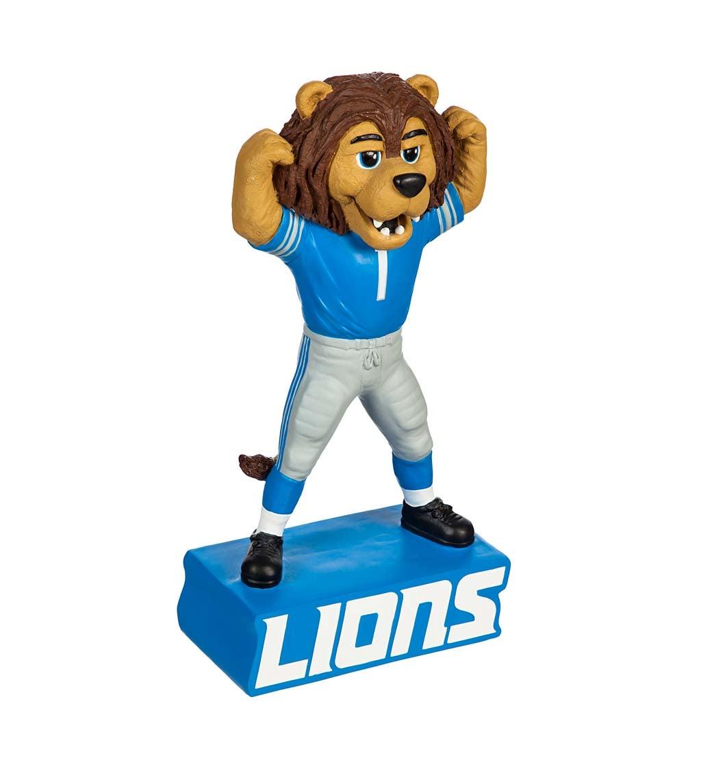 Detroit Lions Mascost Statue