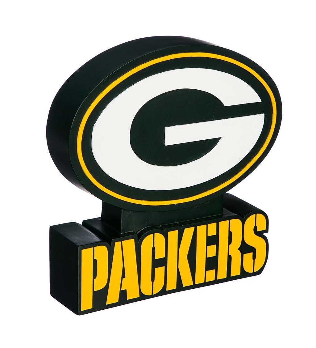 Green Bay Packers Mascot Statue