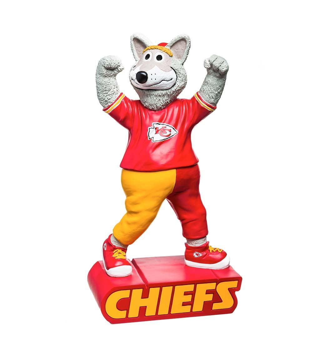 Kansas City Chiefs Mascot Statue