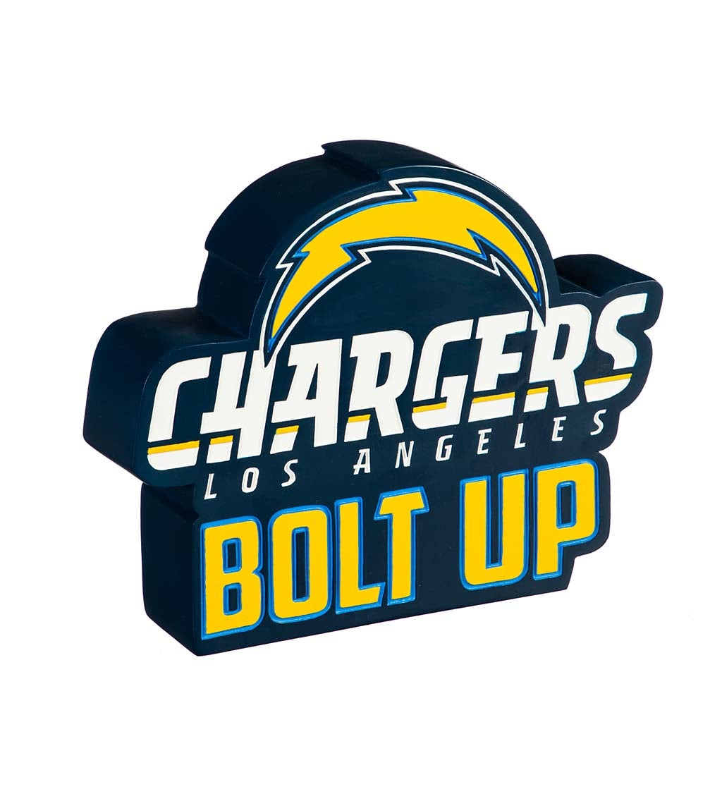 Los Angeles Chargers Mascot Statue