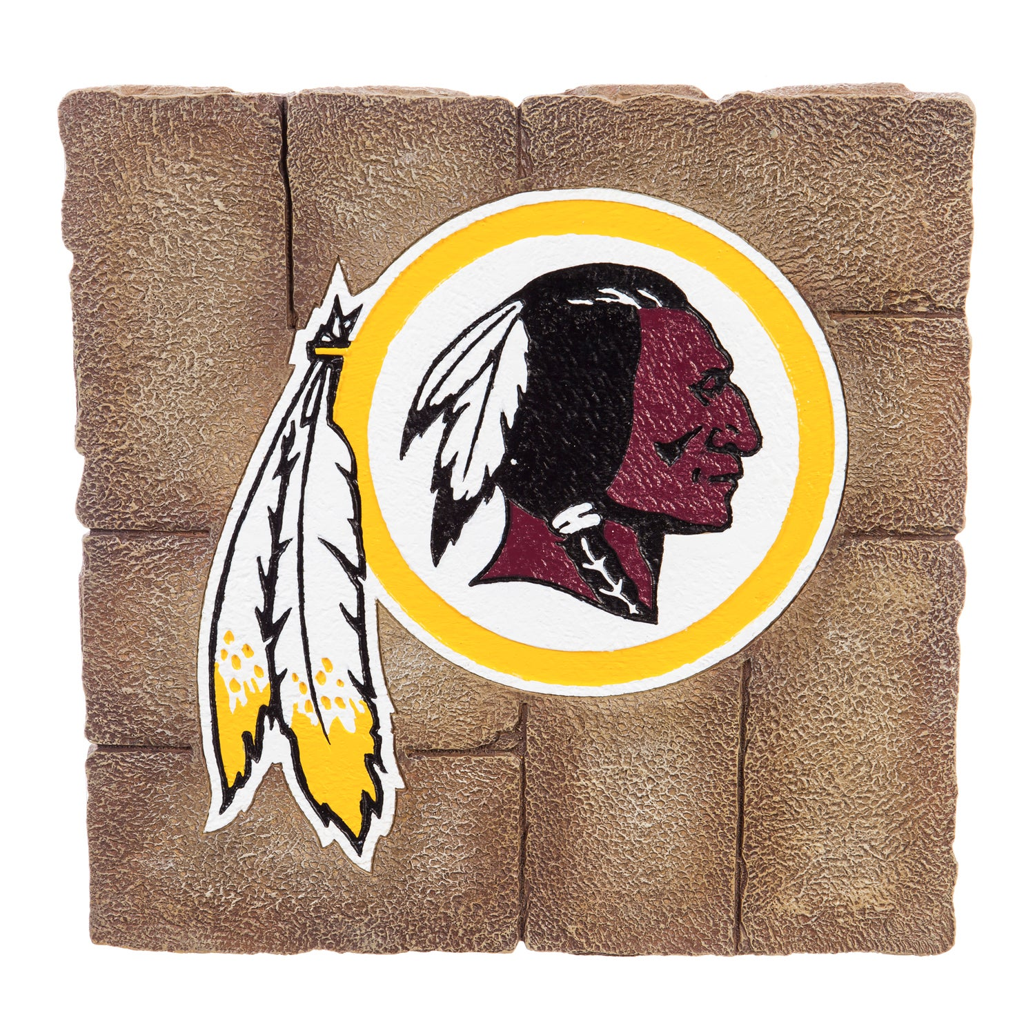 Washington Redskins Garden Stone