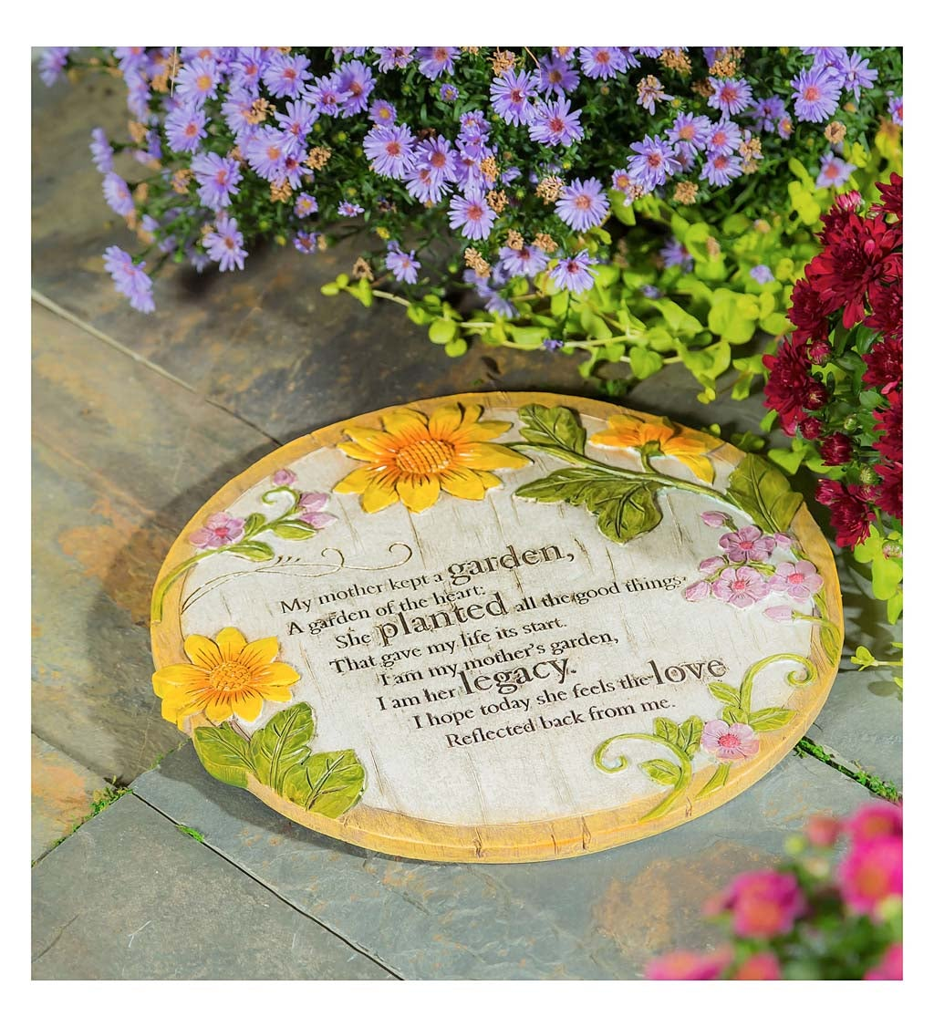 Mother Memorial Wishgivers Resin Garden Stone