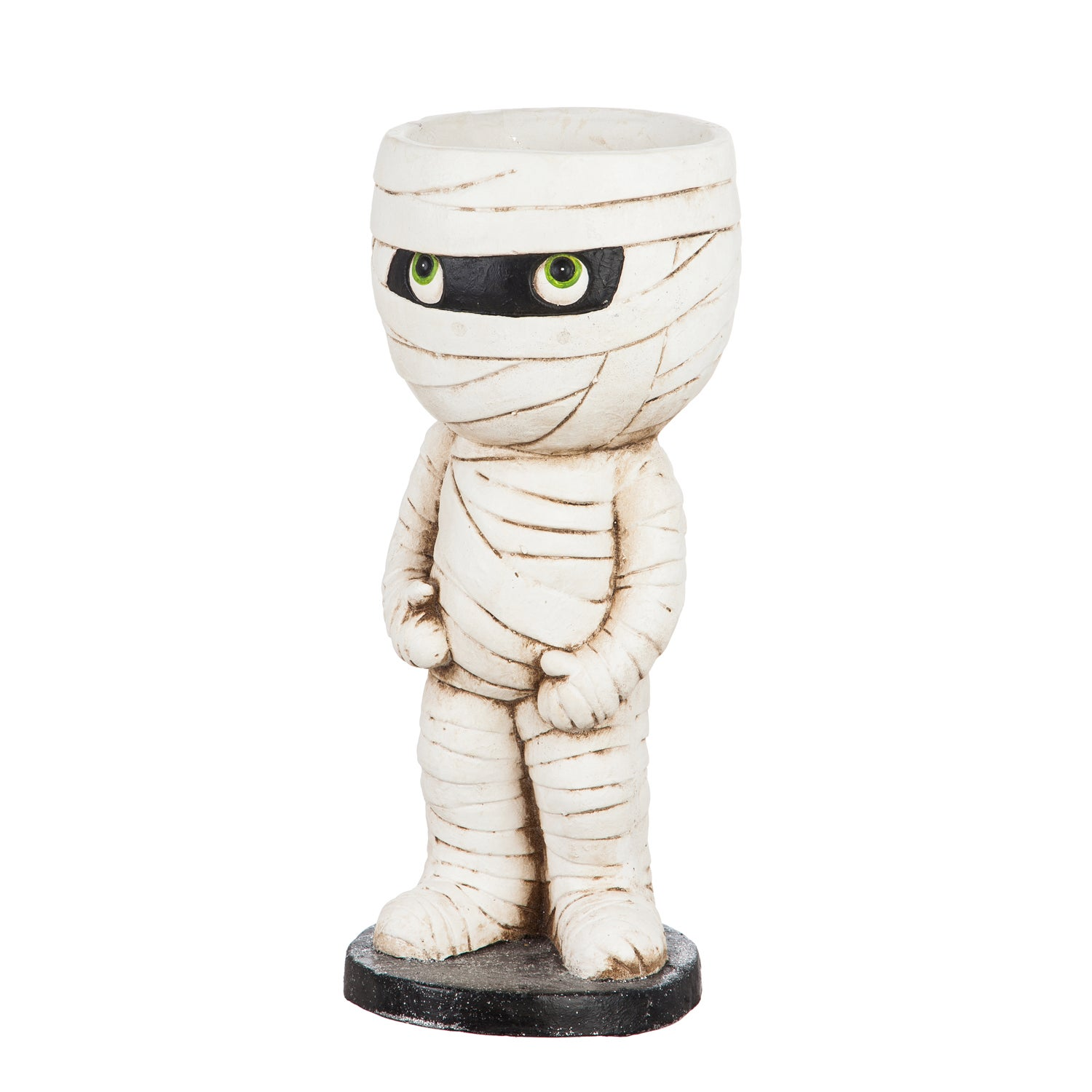 Mummy Candy Bowl Garden Statuary