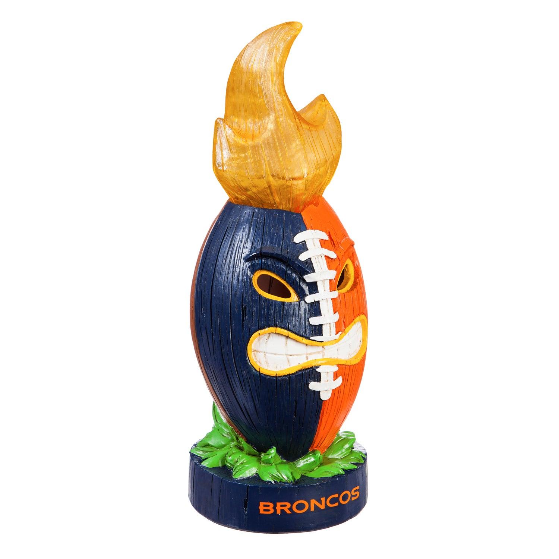 Denver Broncos Lit Team Football Figurine
